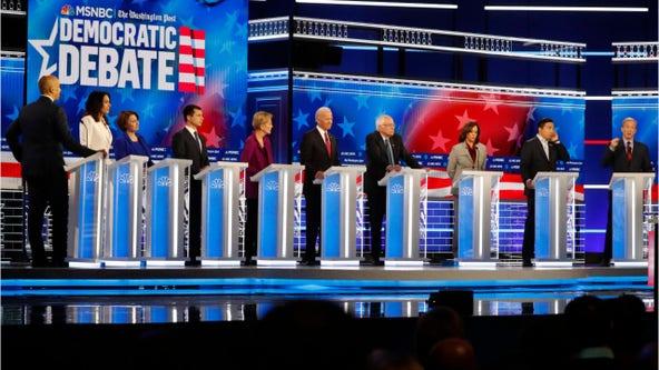 Trump impeachment inquiry, climate change, health care take center stage at 5th Democratic debate