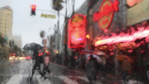 Storm moves into Southland, bringing rain and cooler temps