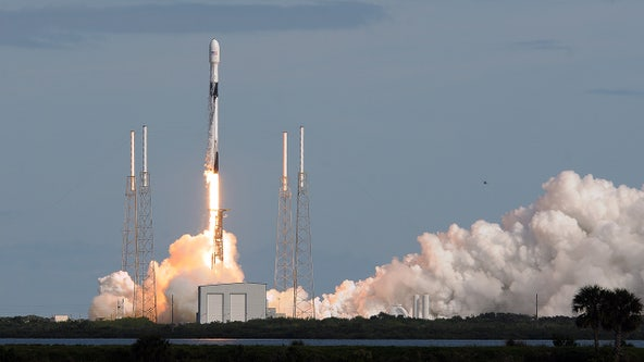 SpaceX launches 60 mini satellites for global internet