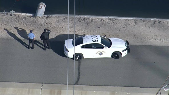 Body found at aqueduct pumping station east of Palmdale