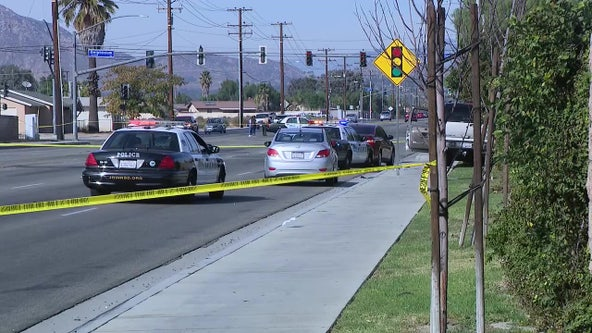 Man found shot inside SUV in Moreno Valley, deputies investigating