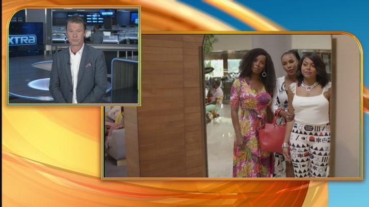 Billy Bush from Extra talks to Taraji P. Henson, Kevin Hart - FOX 11 Los Angeles