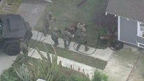 Barricaded suspect in Signal Hill gives up