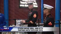FOX 11 partners with Studio Movie Grill and Toys For Tots