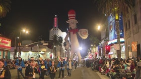 Thousands attend the 88th annual Hollywood Christmas Parade