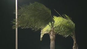 Cold, windy weather strikes SoCal