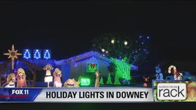Holiday Lights in Downey