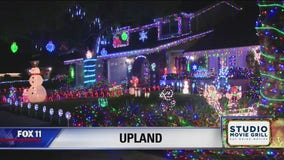 Holiday Lights in Upland