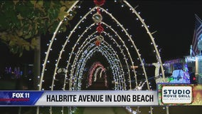 Holiday Lights in Long Beach