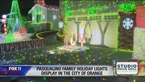 Holiday Lights in the City of Orange