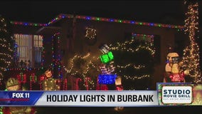 Holiday Lights in Burbank