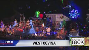 Holiday Lights in West Covina
