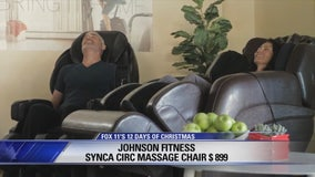 12 Days of Christmas Giveaway: Johnson Fitness Synca CirC Massage Chair, Matrix C50 Climb Mill, NordicTrack S22 Cycle Studio