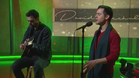David Archuleta performs Christmas hit song live on GDLA