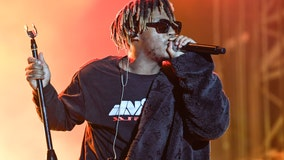 Los Angeles fans hold vigil for late rapper Juice Wrld at sneaker exhibition he invested in