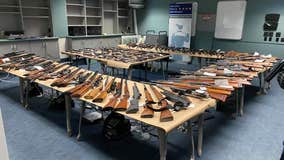 Over 150 guns seized by police from Anaheim home