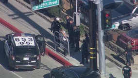 Police arrest two home-invasion robbery suspects following pursuit that ended in Hawthorne