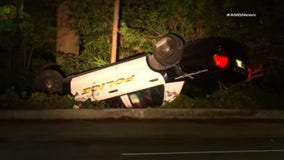 Two Beverly Hills police officers injured in crash during pursuit