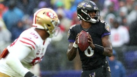 49ers broadcaster who said Ravens' Lamar Jackson helped by 'dark skin with a dark football' is suspended