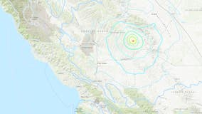 4.3-magnitude quake jolts Central California