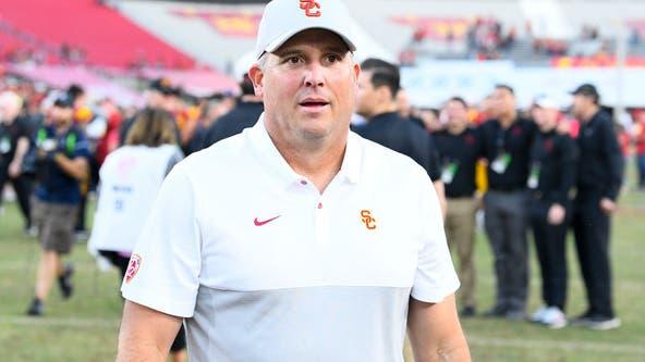 Clay Helton retains job as USC head football coach