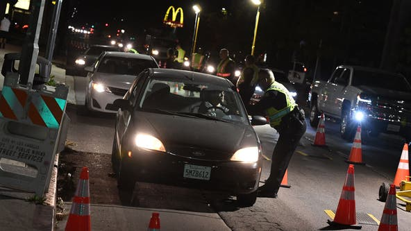 CHP: 42 killed, 867 arrested for driving under the influence during Thanksgiving holiday weekend