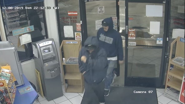 Deputies on the lookout for 2 men connected to multiple robberies