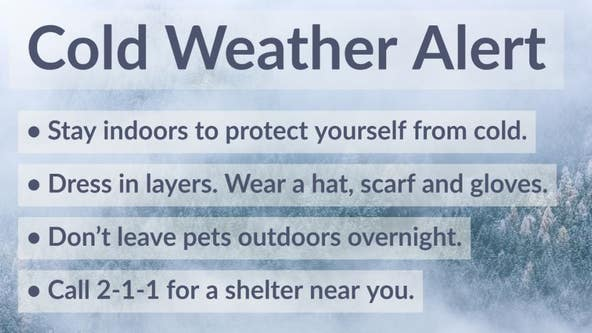 Cold Weather Alert Extended: Health officials warn cold temps expected in parts of Los Angeles County mountain areas, Antelope Valley