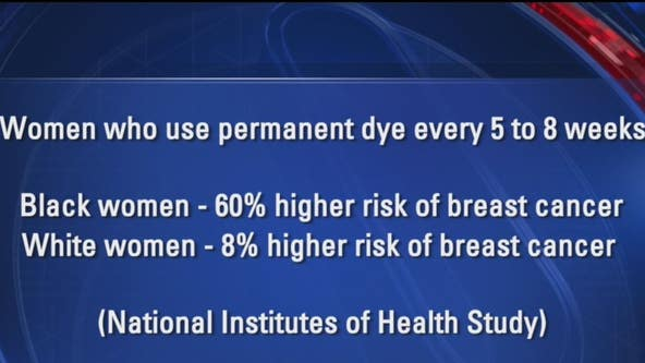 Doctor says diet, exercise are more important than hair dye when it comes to breast cancer