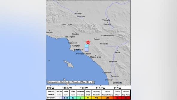 Magnitude 3.2 earthquake jolts Brea area