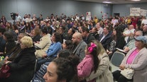 Tempers flare as hundreds of concerned South LA residents demand answers from Delta Airlines