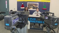 School Standouts: Junior high students broadcast live newscasts every morning before school