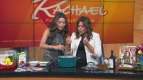 Rita Garcia helps Rachael Ray cook up some favorites from her new cookbook