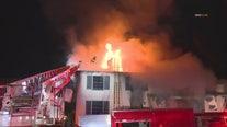 Fire tears through View Park home