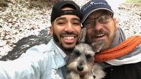 Dad celebrates Wednesday's Child adoption