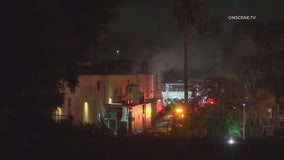 Hazardous materials unleashed in fire at Brea aerospace manufacturing company