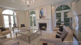 Top Property: Inside look into this Beverly Hills mansion that's available for rent
