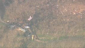 NTSB mapping scene of Kobe Bryant copter crash