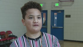 Wednesday's Child: Lazaro shooting for a forever home