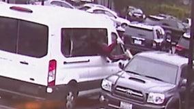 Car burglars target LA tourists