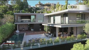 Top Property: A lavish modern home set above the Sunset Strip