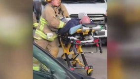 Two firefighters released from the hospital after dramatic rescue in Glendale