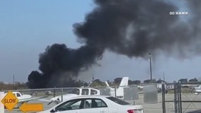 4 dead after small plane crashes in Corona