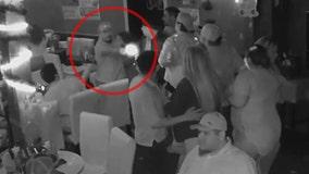 Bar shooting captured on video