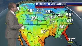 Weather Forecast Friday, January 3