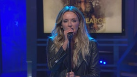 Country singer Carly Pearce performs on Good Day LA