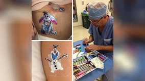 Ohio doctor gives patients adorable hand-drawn cartoons after surgery
