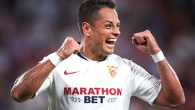 Pro soccer star Javier 'Chicharito' Hernández signs on to play forward for the LA Galaxy
