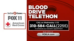 FOX 11's Blood Drive Telethon with the American Red Cross