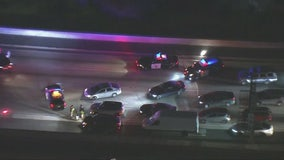 Man killed in two-vehicle collision on 405 Freeway in Hawthorne